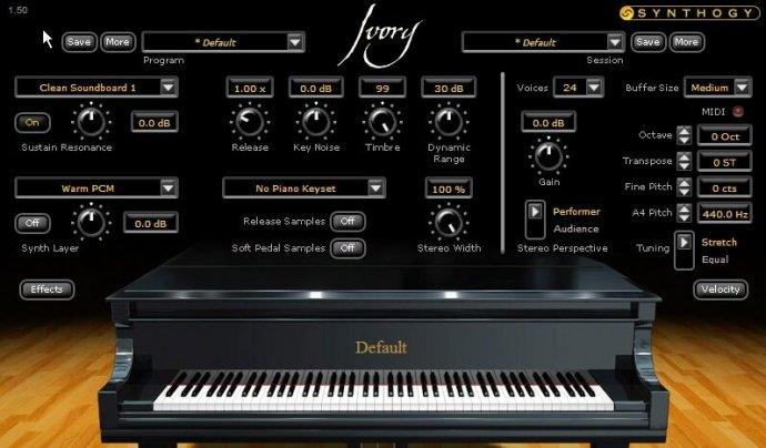 极品象牙钢琴音源Synthogy Ivory原版/全套扩展(58.8GB)安装教程(Win/Mac)